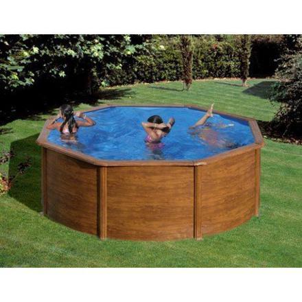 piscine ronde hors sol acier