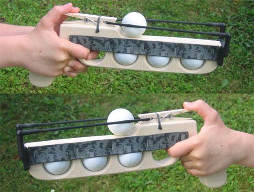 pistolet a balle de ping pong