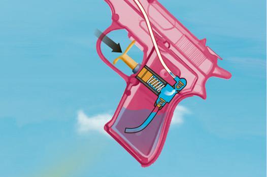 pistolet a eau fonctionnement