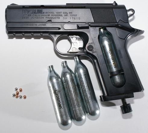 pistolet a gaz