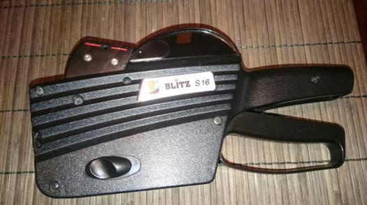 pistolet blitz