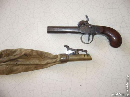pistolet de poche ancien