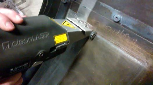 pistolet laser nettoyage