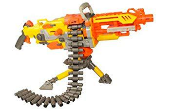 pistolet mitraillette nerf