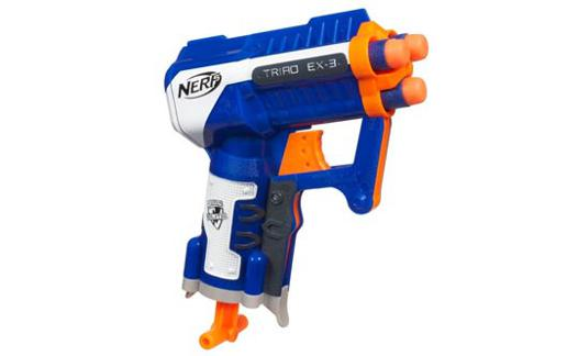 pistolet nerf 5 ans