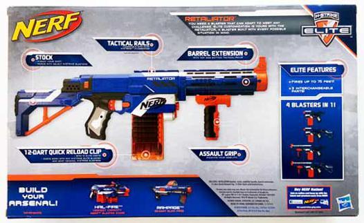pistolet nerf retaliator
