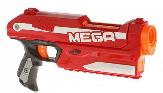 pistolet nerf rouge