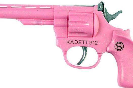 pistolet rose jouet