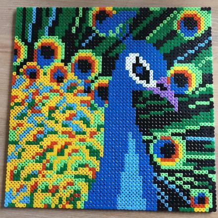 pixel art paon