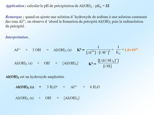 pks chimie