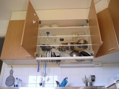 placard egouttoir vaisselle