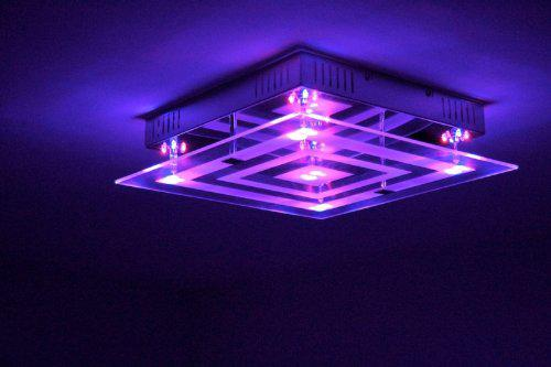 plafonnier led couleur