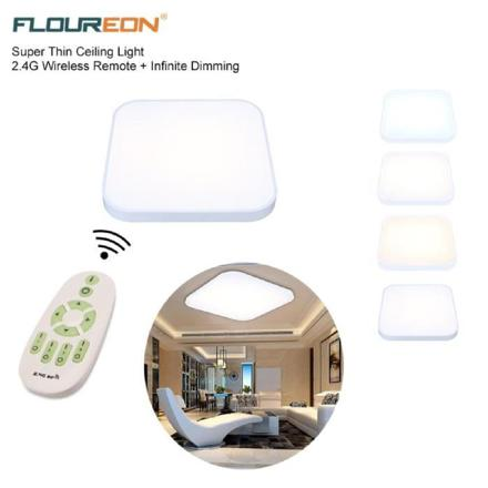 plafonnier led sans fil avec telecommande