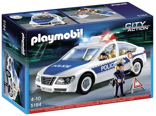 playmobil voiture police