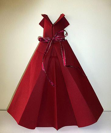 pliage serviette robe mariage