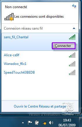 plus de wifi sur mon pc