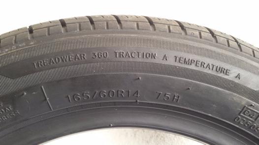 pneu 165 60 14