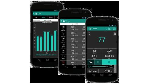 podometre pour android